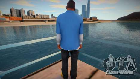 Franklin Skin para GTA San Andreas