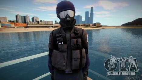 Improved swat para GTA San Andreas
