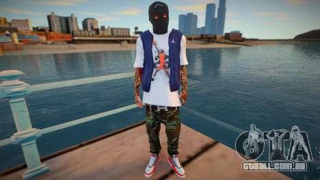 Bandido mascarado (boa pele) para GTA San Andreas