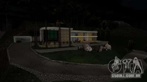 A única mansão enorme para GTA San Andreas