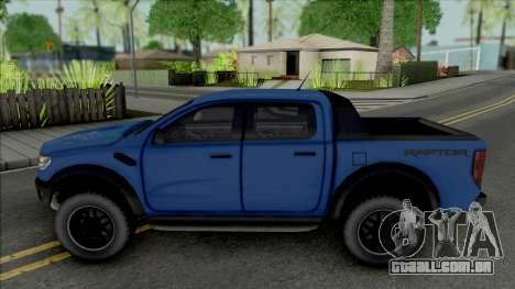 Ford Ranger Raptor 2020 para GTA San Andreas