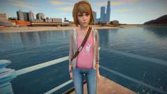 Maxine Caulfield from Life is Stange para GTA San Andreas