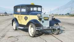 Ford Model A Town Sedan 1931〡Taxi〡add-on v0.3 para GTA 5