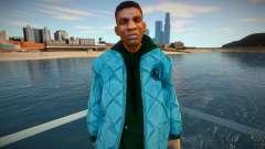 Afro-americano de jaqueta para GTA San Andreas