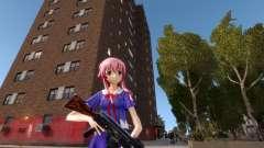Yuno Gasai (Mirai Nikki) para GTA 4