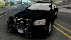 Chevrolet Caprice 2013 Sheriff Police para GTA San Andreas