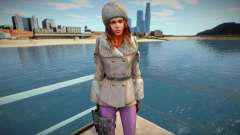 Jessica Sherawat em roupas de inverno para GTA San Andreas