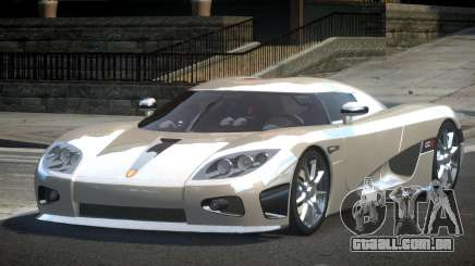 Koenigsegg CCX GST-R para GTA 4