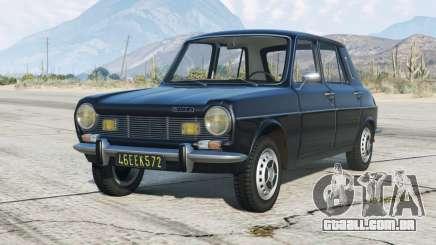 Simca 1100 1976〡add-on para GTA 5