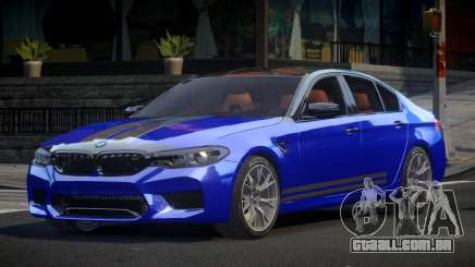 BMW M5 Competition xDrive AT S5 para GTA 4
