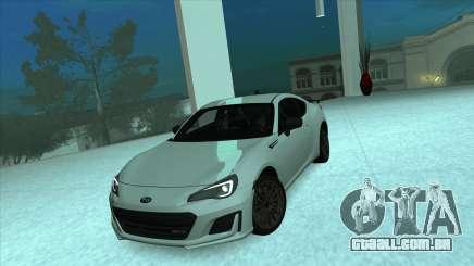 Subaru BRZ tS Coupe para GTA San Andreas