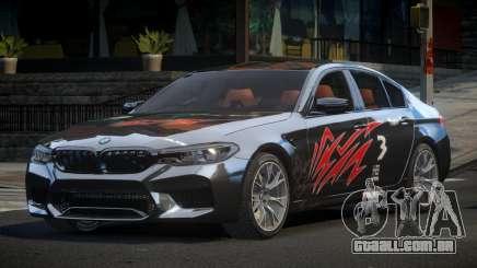 BMW M5 Competition xDrive AT S7 para GTA 4