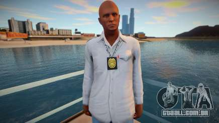 Policial à paisana para GTA San Andreas