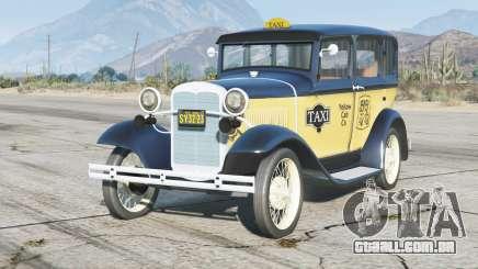 Ford Model A Town Sedan 1931〡Taxi〡add-on para GTA 5