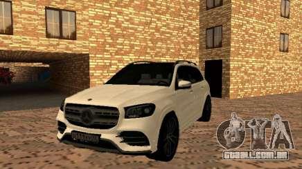 Mercedes-Benz GLS 450 2021 para GTA San Andreas