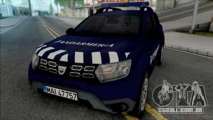 Dacia Duster Jandarmeria para GTA San Andreas