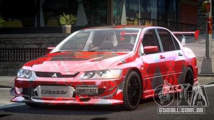 Mitsubishi Lancer Evolution VIII GST-R S7 para GTA 4