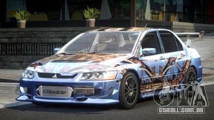 Mitsubishi Lancer Evolution VIII GST-R S8 para GTA 4