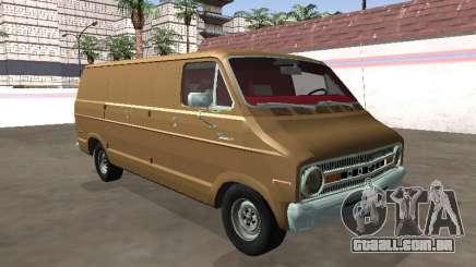 Dodge Tradesman 200 1972 Van Chassi Longo para GTA San Andreas
