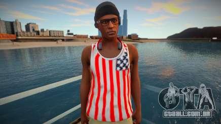 Fashionable young nigga para GTA San Andreas