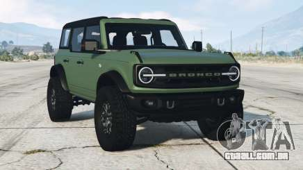 Ford Bronco 4-door Wildtrack 2021 para GTA 5
