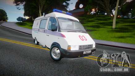 Gaz-32214 (Gazel) - Ambulância para GTA San Andreas