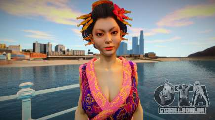 Asian girl from Binary Domain para GTA San Andreas