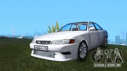 Toyota Mark II JZX90 RUS Plates para GTA San Andreas