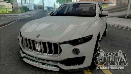 Maserati Levante [Fixed] para GTA San Andreas