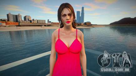Deborah Harper red dress para GTA San Andreas