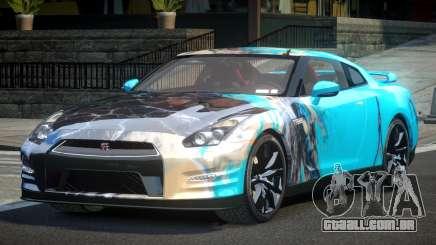 Nissan GT-R U-Style L3 para GTA 4