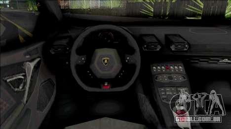 Lamborghini Huracan Performante (SA Lights) para GTA San Andreas