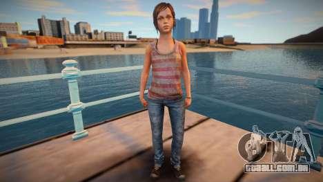 Ellie Left Behind para GTA San Andreas