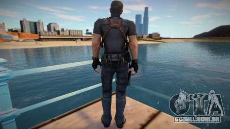Chris Redfield Leon Re1 para GTA San Andreas