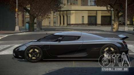 Koenigsegg Agera US para GTA 4