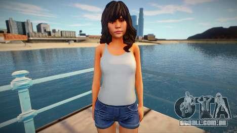 Jane from Home Sweet Home para GTA San Andreas