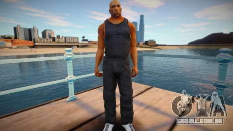 CJ 2015 skin: Parkour style para GTA San Andreas