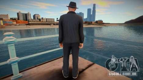 Walter White GTA Online style para GTA San Andreas