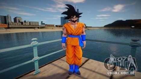 Goku beard para GTA San Andreas