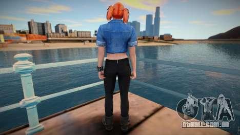 Girl from GTA Online DLC: Bikers para GTA San Andreas