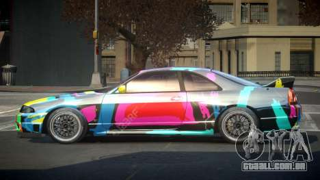 Nissan Skyline R33 US S5 para GTA 4