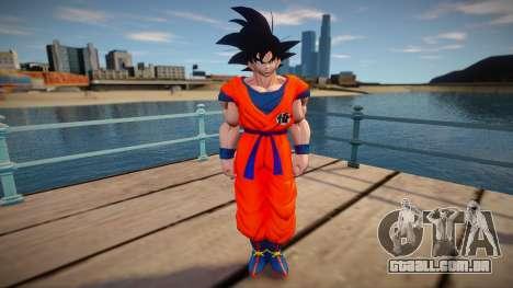 Goku skin para GTA San Andreas