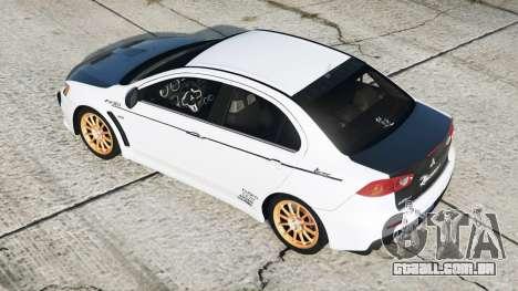 Mitsubishi Lancer Evolution X 2015〡add-on v2.0