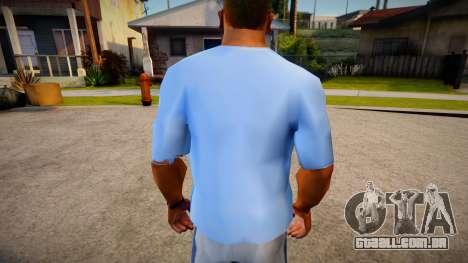 New T-Shirt - tshirtsuburb para GTA San Andreas