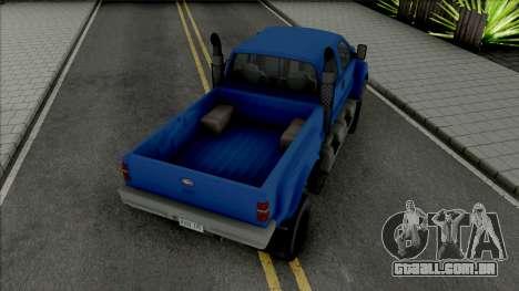 GTA V Vapid Guardian para GTA San Andreas