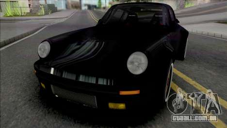 Porsche 911 Turbo Wangan Midnight Black Bird para GTA San Andreas