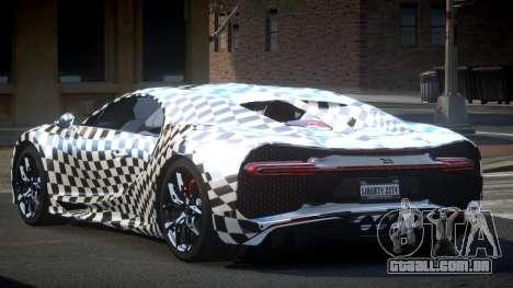 Bugatti Chiron GS Sport S6 para GTA 4