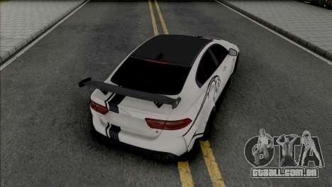 Jaguar XE SV Project 8 [Fixed] para GTA San Andreas