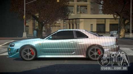 Nissan Skyline R34 PSI-S S3 para GTA 4