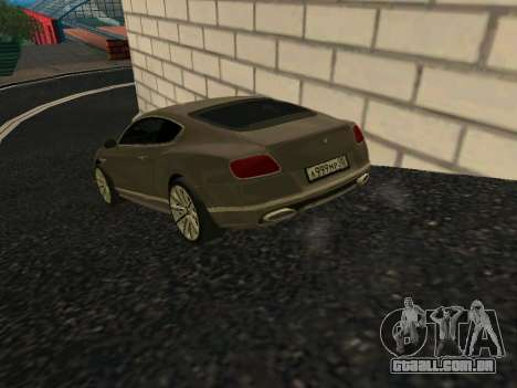 Bentley Continental GT RUS Plates para GTA San Andreas